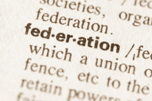 Dictionary Definition Of Word Federation