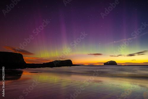 Photo  Aurora In Scotland