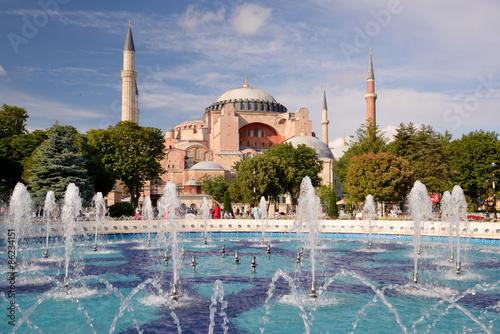 Fotografia Hagia Sophia in Istanbul, turkey.