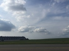 Clouds Over The Blimp Hangar