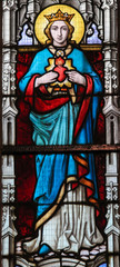 NaklejkaStained Glass - Mother Mary