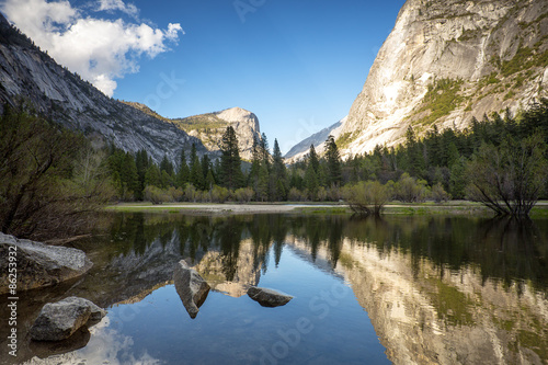 Poster de jardin Parc Naturel Mirror Lake Yosemite