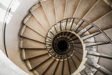Fototapeta spiral staircases