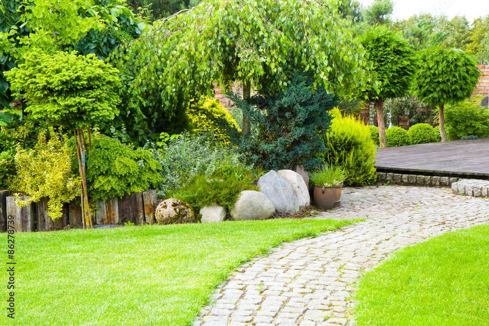 Fototapeta ogród