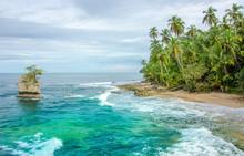 Wild Caribbean Beach Of Costa ...