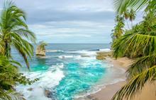 Wild Caribbean Beach Of Costa Rica - Manzanillo