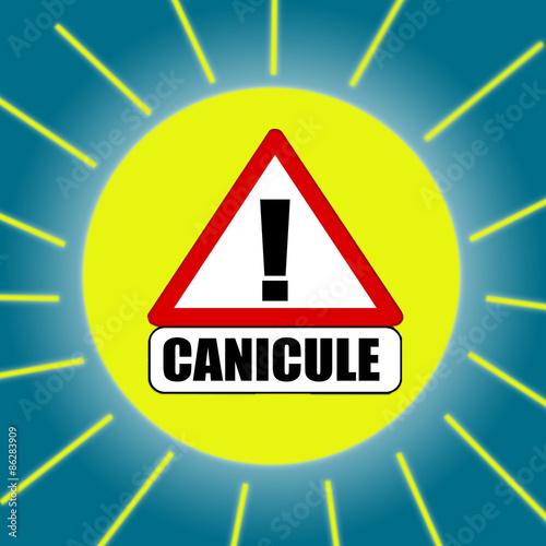 Fotografie, Obraz  canicule - heatwave- Hitze- ola de calor