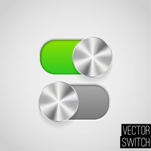 Vector Illustration Of On/Off ...