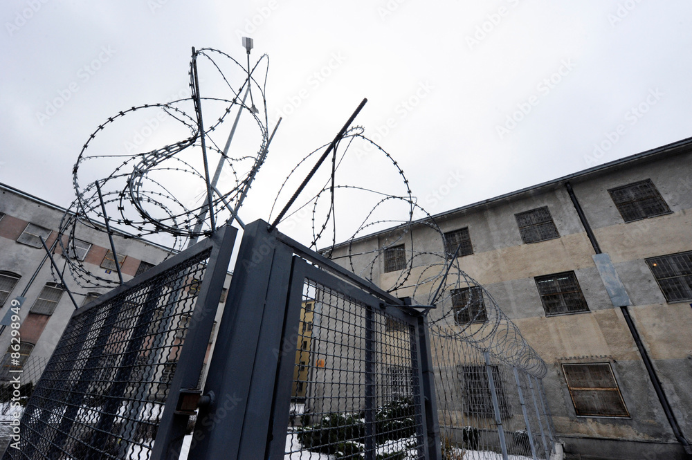 Fototapeta więzienie