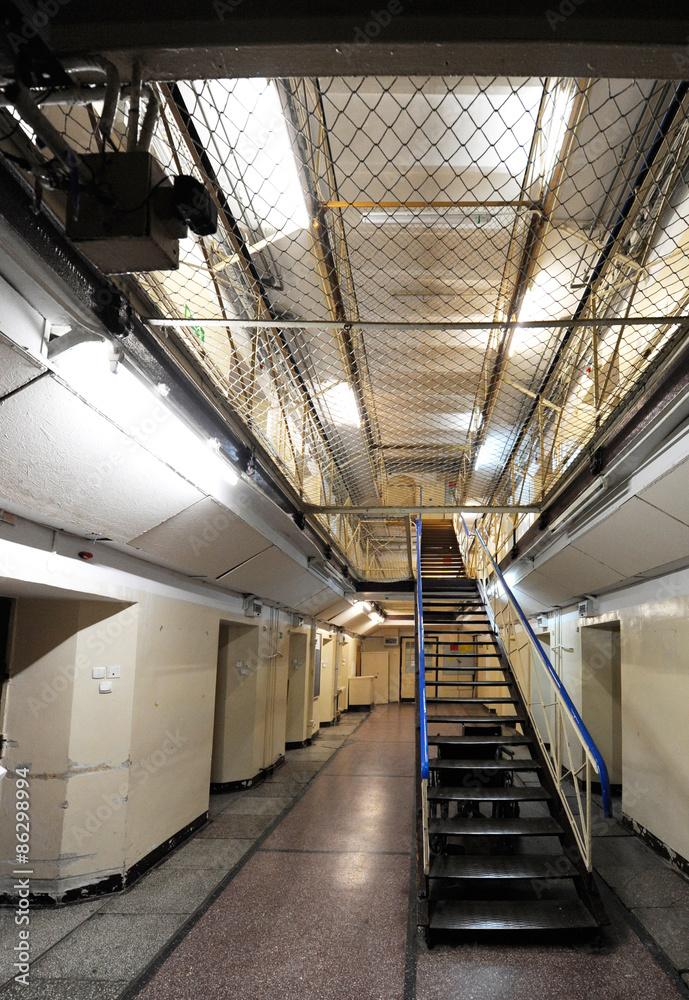 Fototapeta korytarz więzienny