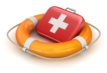 First Aid Kit In Lifebuoy