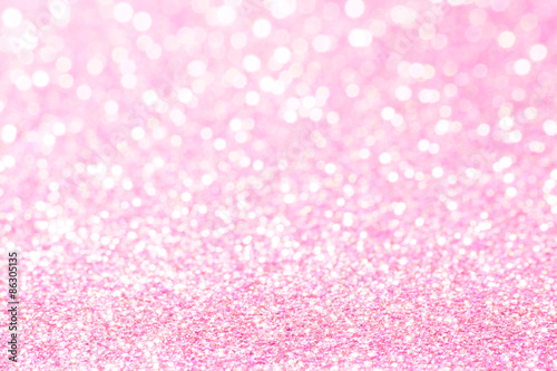 pink and white bokeh lights defocused. abstract background