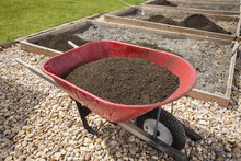 Wheelbarrow Full Of Compost Di...