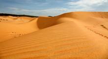 Düne/Wüste Im Süden Vietnams