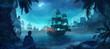 canvas print picture - pirate