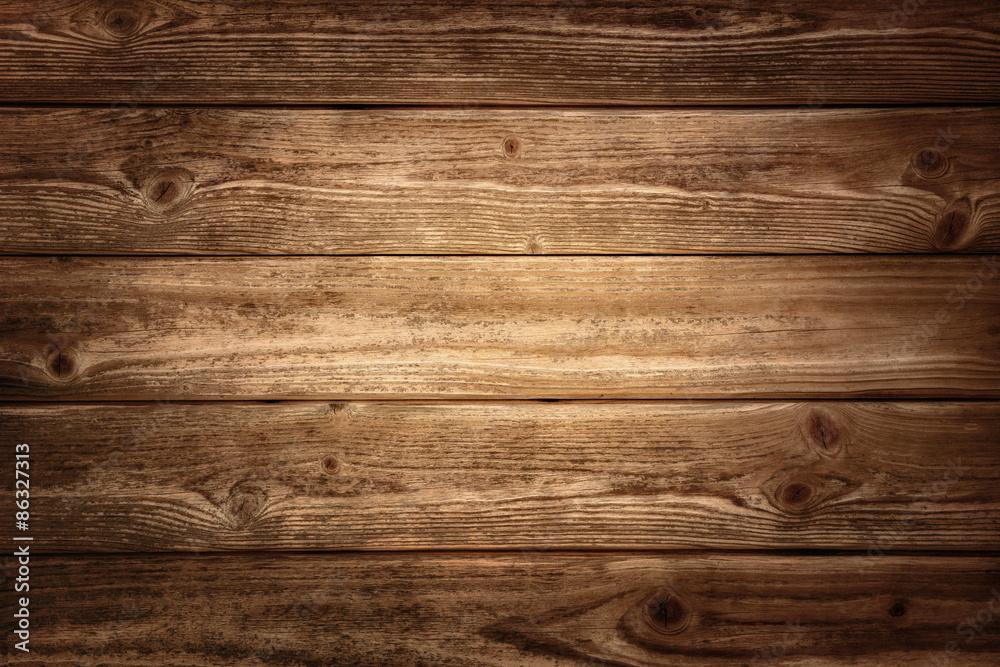 Rustikale Holzplanken Hintergrund Foto, Poster, Wandbilder bei ...
