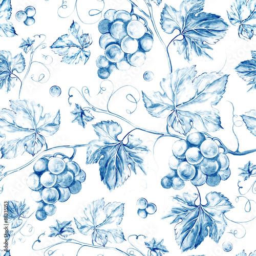 bezszwowe-tlo-winorosli