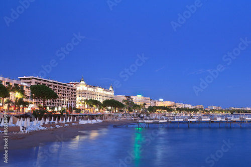 Fototapeta city of Cannes