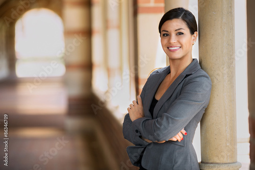 Fototapety, obrazy: Proud confident latina woman professional business woman of mixed ethnicity