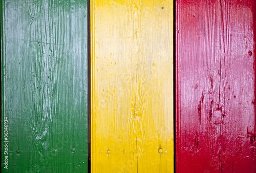 Fotografie, Obraz  Reggae světlé barvy