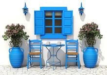 Traditional Greek Terrace