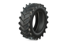 Tractor Tire Or Tractor Tyre Closeup