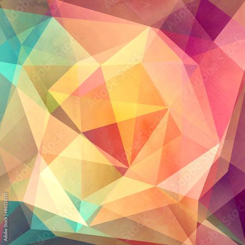 kolorowe tło z wielokątów