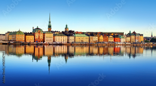 Stockholm city Canvas Print