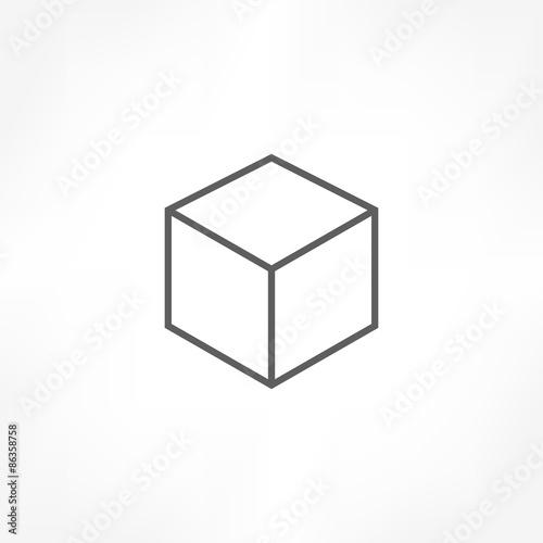 Photo  cube icon