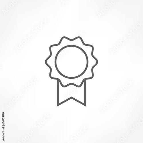 Vászonkép rosette icon