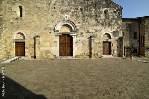 Particolare Duomo di Anagni Canvas Print