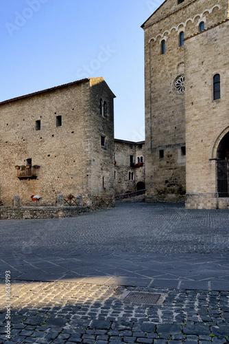 Fotografie, Obraz  Particolare Duomo di Anagni