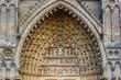 Amiens- Cathédrale Notre-Dame Portalbogen