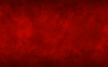 Abstract Red Background Illust...