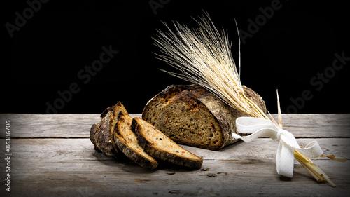 Fotografie, Obraz  Brot & Getreide