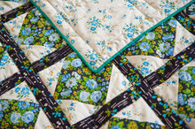 Patten Scrappy Cover On A Bed 2973.