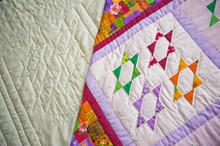 Childrens Scrappy Blanket Of Handwork 2990.