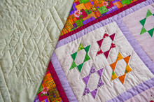 Childrens Scrappy Blanket Of Handwork 2991.