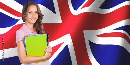 Fotografie, Obraz  English, studying, speak.