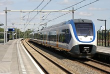 Bahnhof Mit Regionalbahn