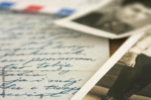 Fotografia, Obraz  Old letters