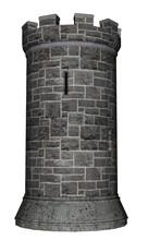 Castle Tower - 3D Render