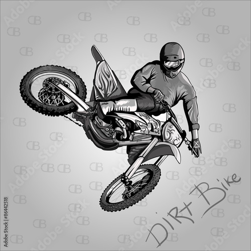 Printed kitchen splashbacks motocross