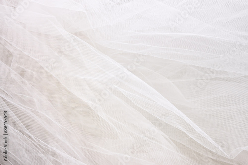 Obraz na plátně Vintage tylu šifon textury pozadí. svatební koncepce