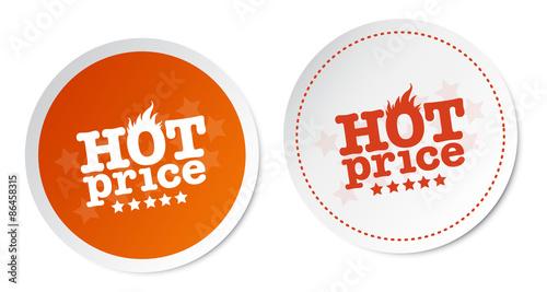 Valokuvatapetti Hot price stickers
