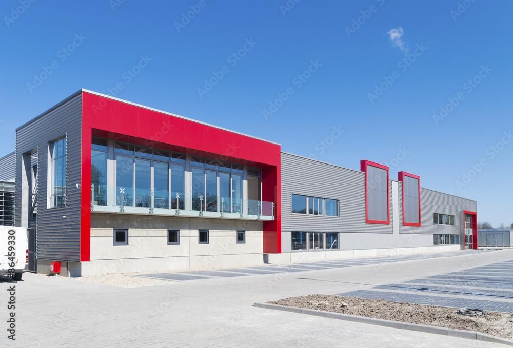 Fototapeta new office building