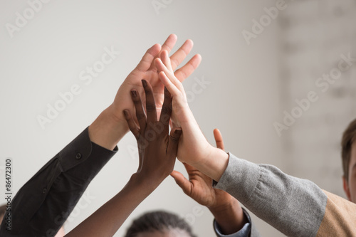 Fotografie, Obraz  Group of Diverse Multiethnic People Teamwork