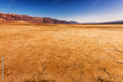 Poster de jardin Desert de sable Harsh Death Valley