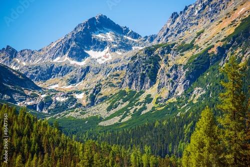 Fototapeta góry gorskie-tatry-na-slowacji