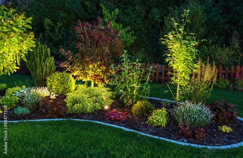 Papiers peints Jardin Illuminated Garden